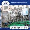 Máquinas de rellenar del agua de la pequeña escala de la alta calidad de China para el casquillo del aluminio de la botella de cristal