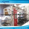 Тип стога Flexo печатной машины крена бумажного крена 6 цветов пластичный