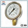 Mesure à haute pression remplie d'huile personnalisée de l'acier inoxydable 0-35kg 500psi