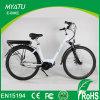 bicicleta elétrica do motor da manivela da movimentação da senhora MEADOS DE da cidade da mulher 700c com alta qualidade