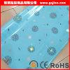 높은 광택 있는 부엌 찬장 지상 박판으로 만드는 단단한 가지 광택 있는 PVC 필름 막 가구 PVC 장
