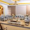 Hölzernes Gewebe-Sofa für Wohnzimmer-Möbel (929O)