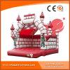 Aufblasbares Camelot rotes federnd Schloss für Kind-Spielzeug T2-002