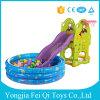 De plastic BinnenDia van het Speelgoed van Jonge geitjes met de Opblaasbare Pool van de Bal voor Verkoop met Grote Prijs