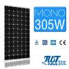 通りLEDの照明のための305Wモノラル太陽電池パネル