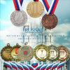médaille de blanc d'alliage de fonderie de 50mm ou de 70mm (FW-01)