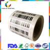 Etiqueta do frasco da etiqueta da Anti-Falsificação da etiqueta de código de barras do preço de fábrica para o champô