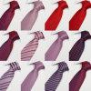 Relations étroites de la noce des hommes, relations étroites en soie tissées par jacquard d'affaires (A012)
