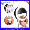 Lumière de allumage extérieure de boucle de Selfie de lampe de Selfie de remplissage d'instantané de la batterie DEL de constructeur rechargeable pour le téléphone mobile