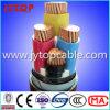 cabo de cobre de 0.6/1kv 4-Cores com o PVC isolado, fita de aço blindada
