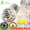 カスタム金属の記念品の硬貨か軍の硬貨または警察は硬貨24k 3Dの金貨メーカーに最小値挑戦しない