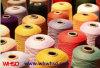 Polyester 100% Spannlack-Gefärbtes Heizfaden-Garn mit POY Ableiter-150d/144f