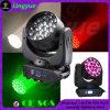19PCS 12W 4in1 Wash Poutre LED Moving Head Éclairage de scène