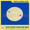 99.5% Lavorare di CNC di ceramica della scheda/piatto di Al2O3/Alumina