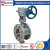 Válvula de borboleta pneumática Pn10/Pn16 do ferro de molde