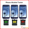 2 in 1 Alcohol Tester Analizador de la respiración Alcohol Breathalyzer Sensor