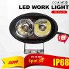 Indicatore luminoso del lavoro di avvertimento dei trattori LED (20W, IP68 impermeabilizzano)