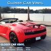 Entrega rápida con estilo la decoración del coche rojo brillante Wrapping Film