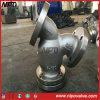 L'acier inoxydable d'acier de fonte a bridé type tamis de Y