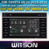 Toyota Hilux 2015년 Revo를 위한 Witson Windows 2015년 Radio Navigitaon