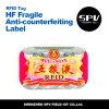 etiqueta de Anti-Falsificación del Hf de 13.56MHz frecuencia intermedia S50 ISO14443A