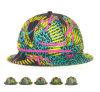 Chapéu colorido casual da cubeta do poliéster da forma