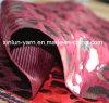 Ткань штемпеля печати леопарда Flocking ткань от занавеса/домашних тканья/софы/драпирования