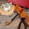 Langer handgemachter Achat-Tabak-hochwertige Pfeife