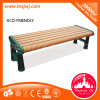 Niedriges Long Chair Wooden Street Bench für Relax