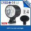 CREE do jipe de ATV auto Offroad claros do '' luz ponto diodo emissor de luz 6.3
