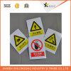 종이에 의하여 인쇄되는 자동 접착 스티커를 인쇄하는 경고 표시 주의 레이블