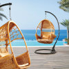 Im Freiengarten-Rattan-hängende Stuhl-Weidenmöbel Ahc006s