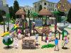 Campo da giuoco esterno dei bambini di tema della foresta antica di medie dimensioni di Kaiqi (KQ10114A)