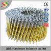 Fabricante chino de clavo de la bobina del alambre de 15 grados