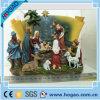 Estatuilla religiosa de Jesús del pesebre de Polyresin