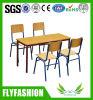 Tableau en bois rectangulaire d'étude d'enfants (SF-15C)