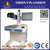 Máquina acrílica da marcação do laser do CO2 da madeira 20W 30W 50W da tela