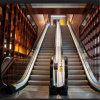 Escalera móvil comercial pública subterráneo del centro comercial del edificio del pasajero