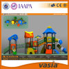 Glissière en plastique de matériel extérieur de cour de jeu de parc d'attractions d'enfants (VS2-160420-03-32)