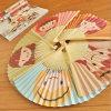 Ventilador de bambú de papel/ventilador de Folden Fan/Promotion