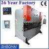 Máquina de dobra hidráulica da placa de aço de Wd67y 40/2200