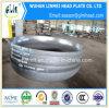 Pista elipsoidal del acero de carbón del casquillo de extremo del tubo con el espesor 6m m