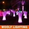 LED 빛을내는 높은 최고 둥근 바 테이블
