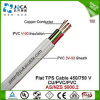 高品質のFlat Copper Conductor TPS PVC Cable (450/750V)