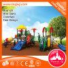 Campo de jogos ao ar livre plástico das crianças com CE