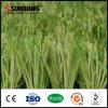 Hierba verde sintética colorida del campo de fútbol 50m m