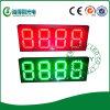 Commutateur extérieur de prix du gaz de la couleur verte DEL