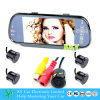 7 Inchtft MP5 Bluetoothrear Ansicht-Kamera-Parken-Sensor-System
