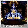 Indicatori luminosi chiari di motivo della fontana di natale LED dell'indicatore luminoso di motivo di motivo 3D di festa LED
