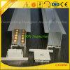 6063-T5는 LED 지구를 위한 알루미늄 단면도를 양극 처리했다